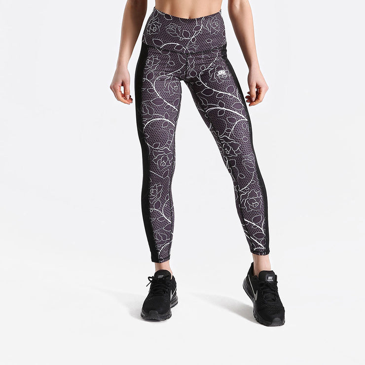 RetroRose MeshLAID Leggings