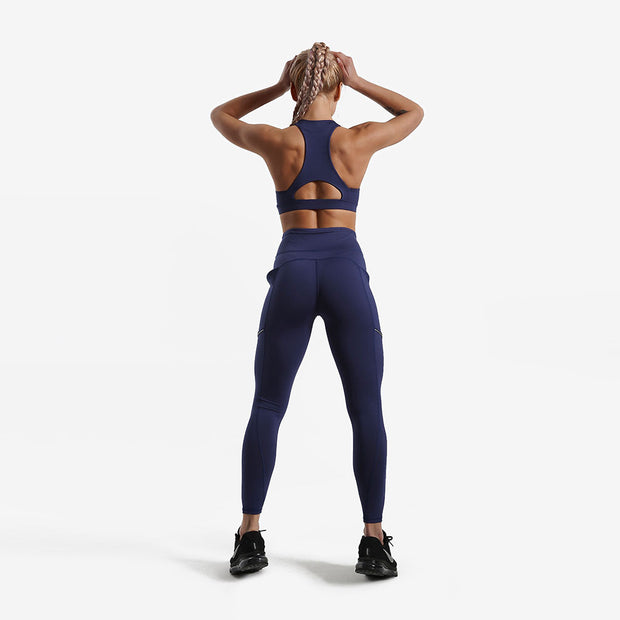 Navy LotusPRO Leggings