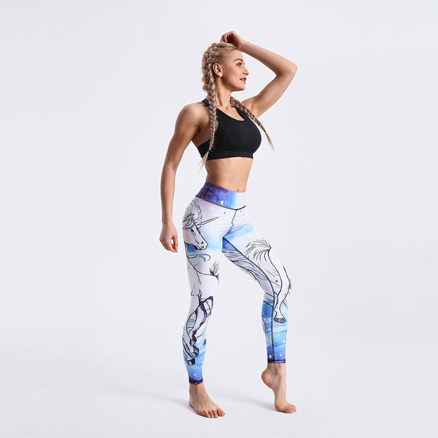 LotusXLite Mystical Unicorn Leggings
