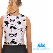 LOOK AT ME CROP TOP - Lotus Leggings