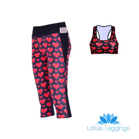 LOVE ME ATHLETIC SET