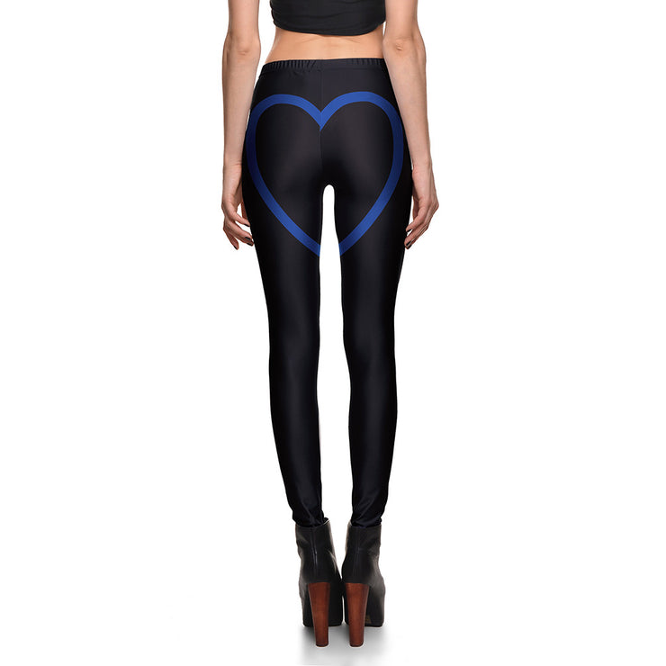 Cheeky Hearts Leggings - Lotus Leggings
