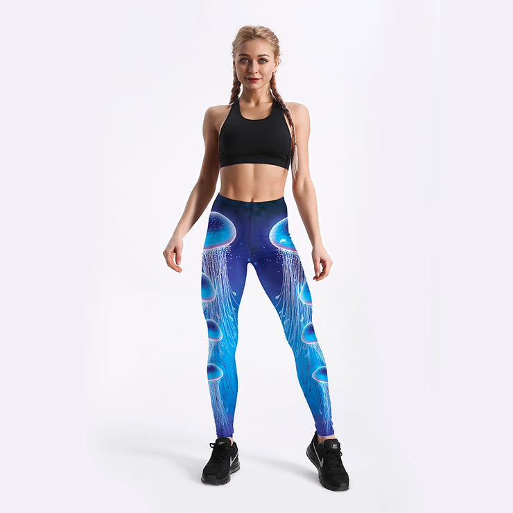 Cosmic Jellyfish Leggings