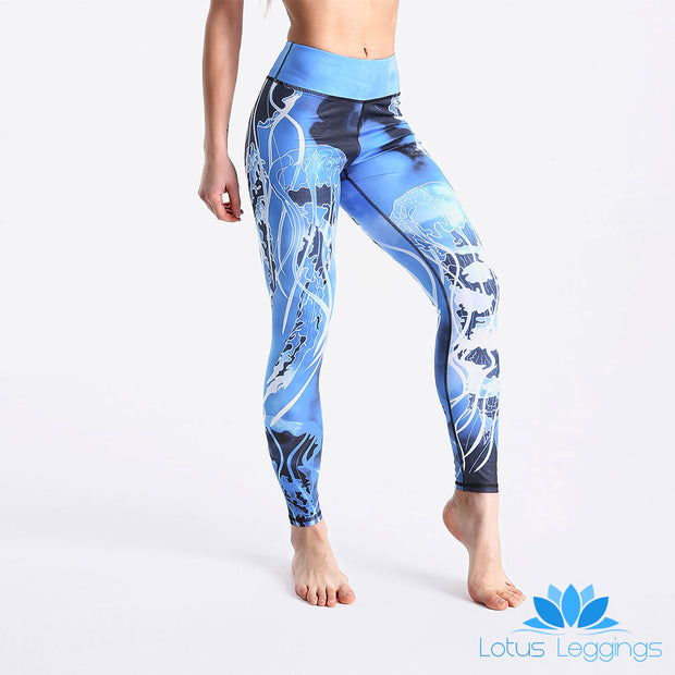 LotusXLite Electric JellyFish Leggings