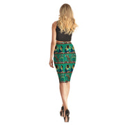 Egyptian Scroll Long Skirt - Lotus Leggings