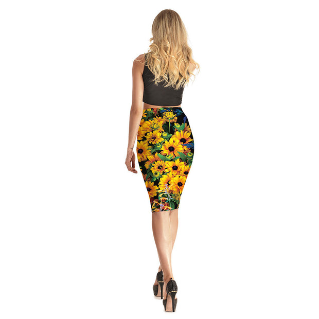 Sunny Daze Long Skirt - Lotus Leggings