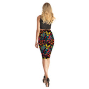 Crazy Cats Pencil Skirt - Lotus Leggings