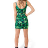 MARIJUANA SLEEVELESS DRESS