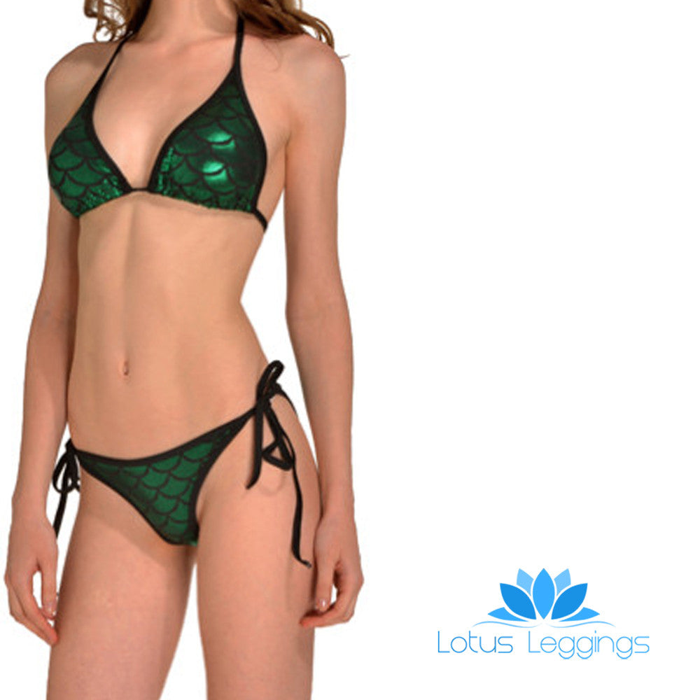 MERMAID BIKINI - Lotus Leggings