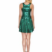 MERMAID SKATER DRESS - Lotus Leggings