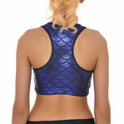 MERMAID SPORTS BRA - Lotus Leggings