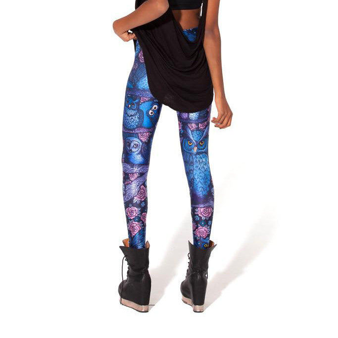 MIDNIGHT OWL LEGGINGS - Lotus Leggings