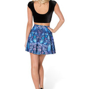 MIDNIGHT OWL SKATER SKIRT - Lotus Leggings