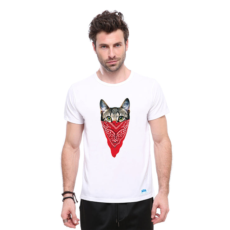 Bandit Cat T-shirt - Lotus Leggings