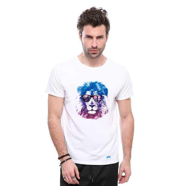 Cool Lion Warrior T-shirt - Lotus Leggings