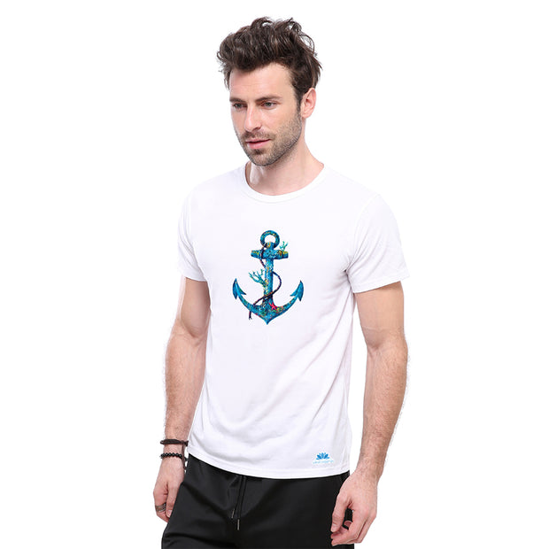 Set Sail Anchor T-shirt - Lotus Leggings