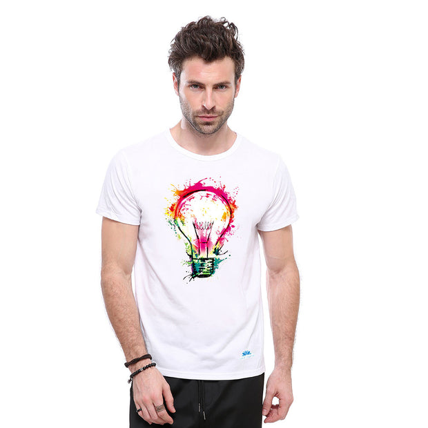 Chromatic Bulb T-shirt - Lotus Leggings