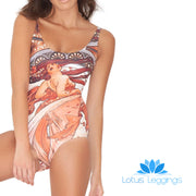 MUCHA ONE PIECE SWIMSUIT - Lotus Leggings