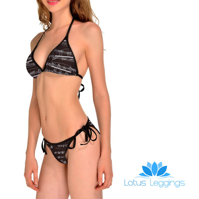 MUSICAL NOTES BIKINI - Lotus Leggings