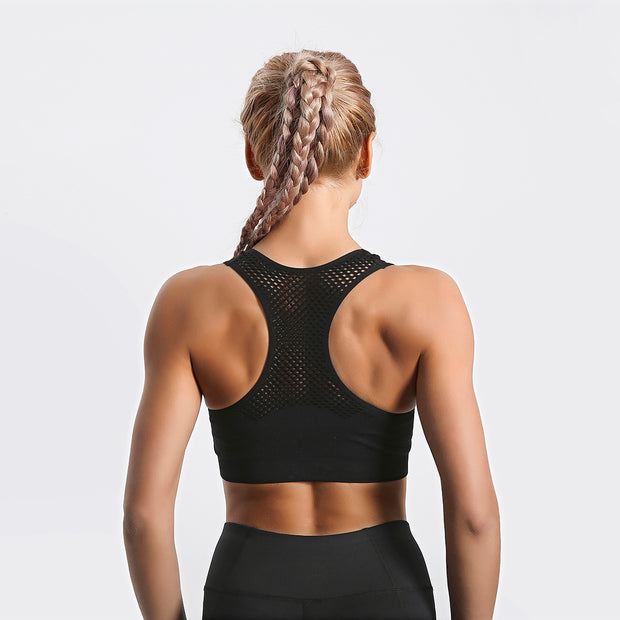 Midnight Mesh ComfortFit Sports Bra