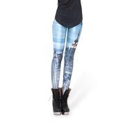 NEW YORK SKIES LEGGINGS - Lotus Leggings