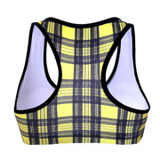 PLAID SPORTS BRA - Lotus Leggings