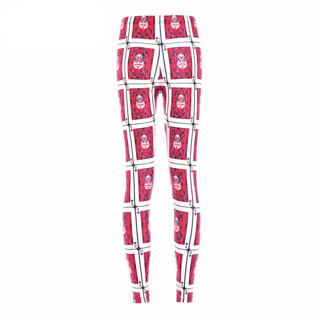 POKER MONSTER LEGGINGS - Lotus Leggings