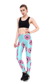 Pug Doughnut Leggings