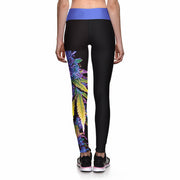 PURPLE HAZE ATHLETIC LEGGINGS - Lotus Leggings