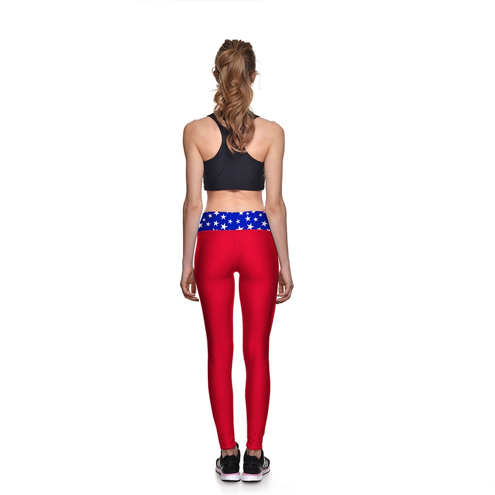 Patriot Athletic Leggings - Lotus Leggings