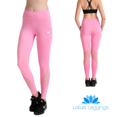 Pretty in Pink MaxLite Leggings - Lotus Leggings
