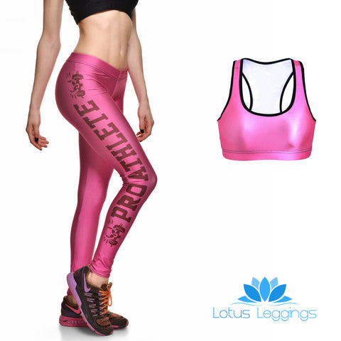Pro Pink Full Athletic Set