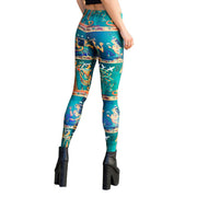 QUEEN OF THE NILE LEGGINGS - Lotus Leggings