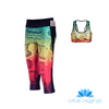 RAINBOW SNAKESKIN ATHLETIC SET