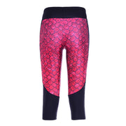 REGAL DRAGON ATHLETIC CAPRI - Lotus Leggings
