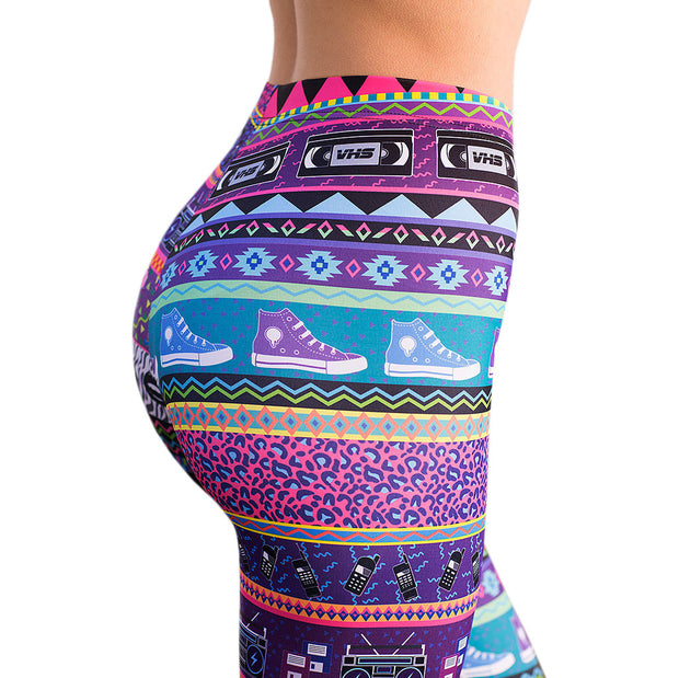 RETRO LEGGINGS - Lotus Leggings