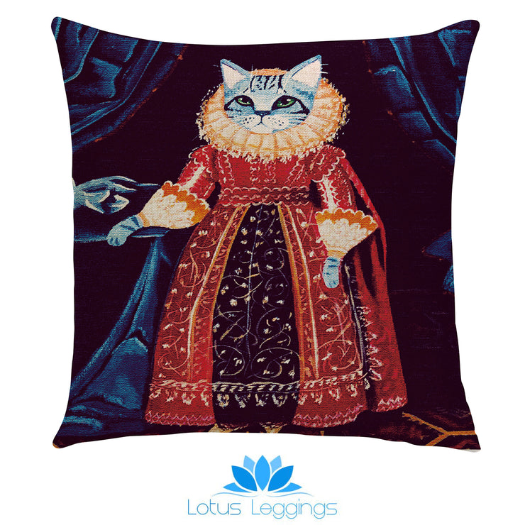 Royalty Cats Pillow Cover - Lotus Leggings