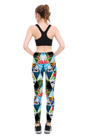 Flamingo Paradise Leggings - Lotus Leggings