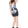 SKELETON SLEEVELESS DRESS