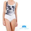 SKULL ONE PIECE SWIMSUIT