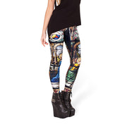 STAINED GLASS LEGGINGS - Lotus Leggings