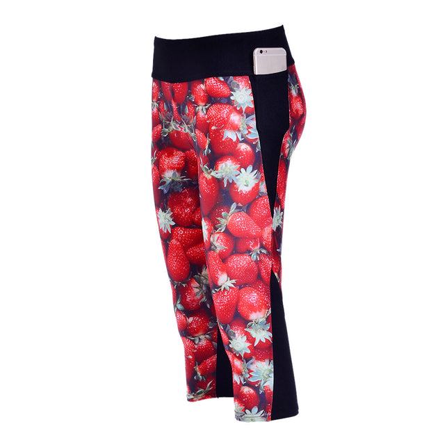 VERY STRAWBERRY ATHLETIC SET - Lotus Leggings
