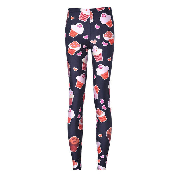 SWEET CUPCAKES LEGGINGS - Lotus Leggings