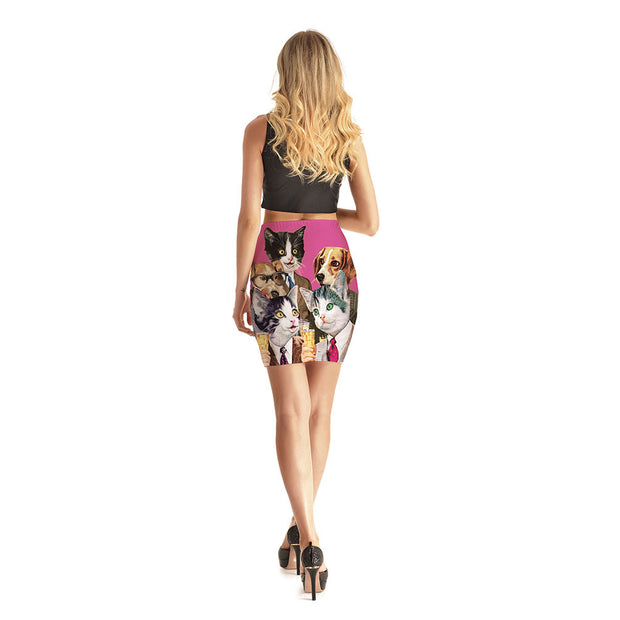 Wallstreet Pets Short Skirt - Lotus Leggings