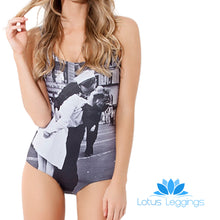 THE KISS ONE PIECE SWIMSUIT - Lotus Leggings