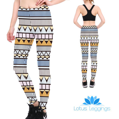 Tribal Pastel Leggings
