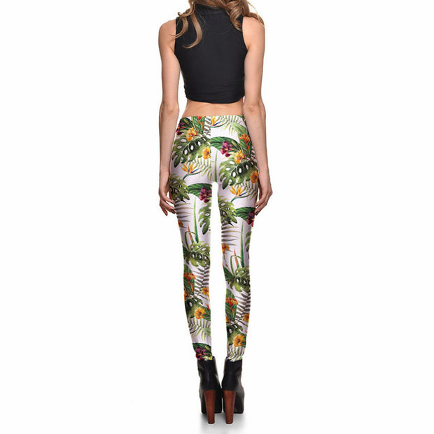 TROPICAL LEGGINGS - Lotus Leggings