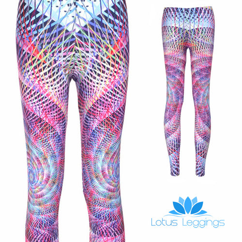 TWISTED CIRCLES LEGGINGS - Lotus Leggings