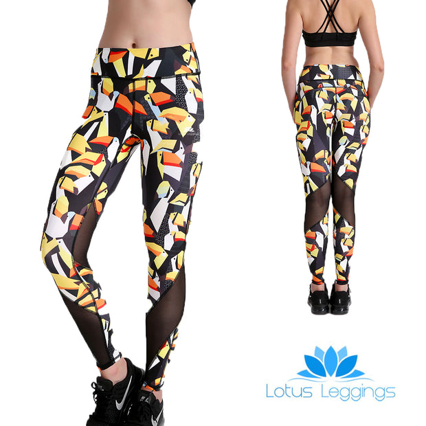 Toucan MaxLite Leggings - Lotus Leggings