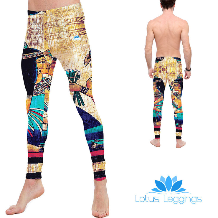 The Ruler of Egypt Leggings - Lotus Leggings